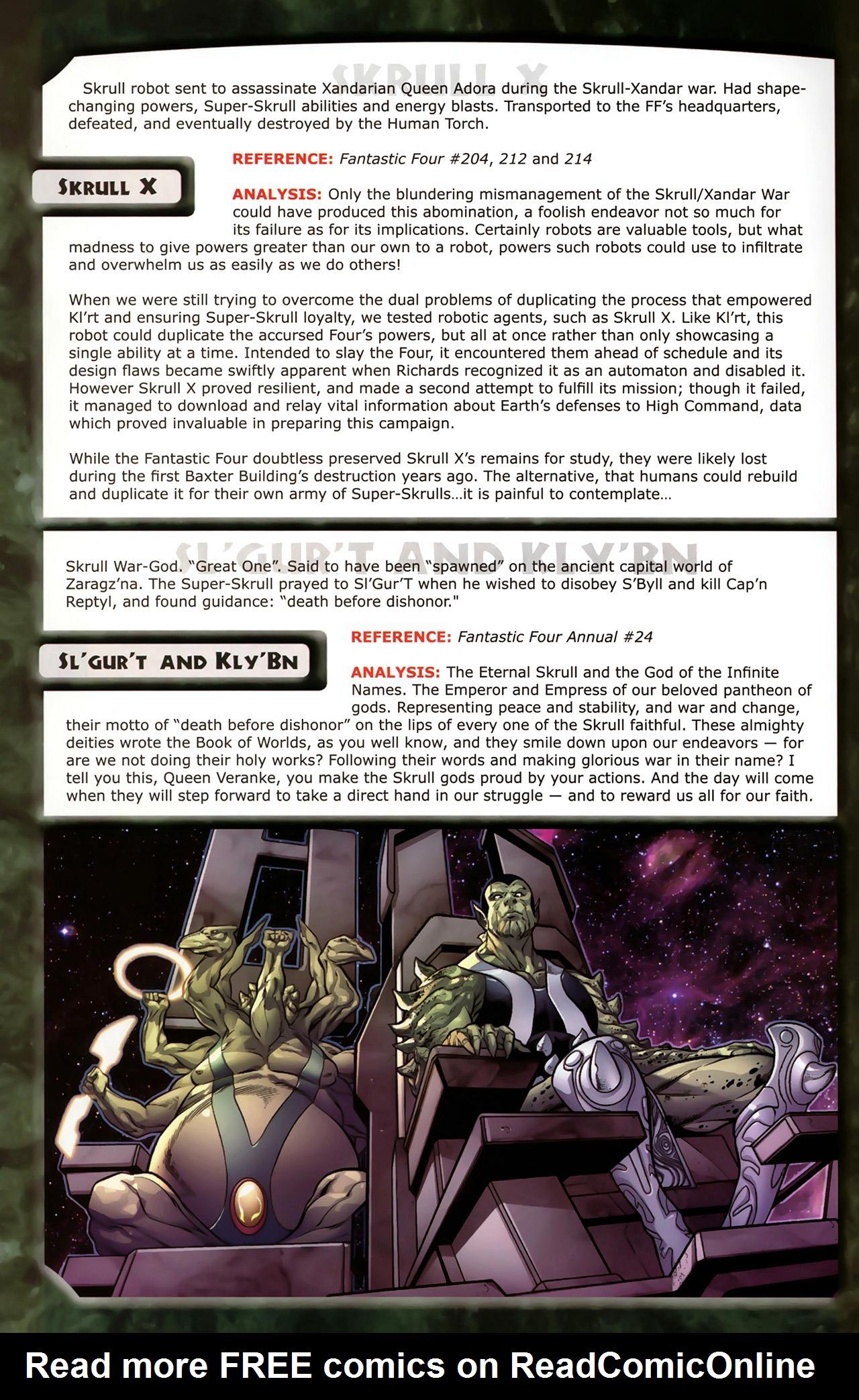 Read online Skrulls! comic -  Issue # Full - 48