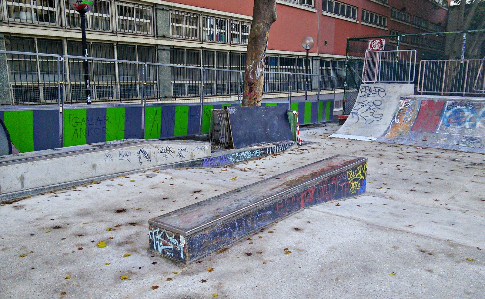 canal saint martin travaux skatepark
