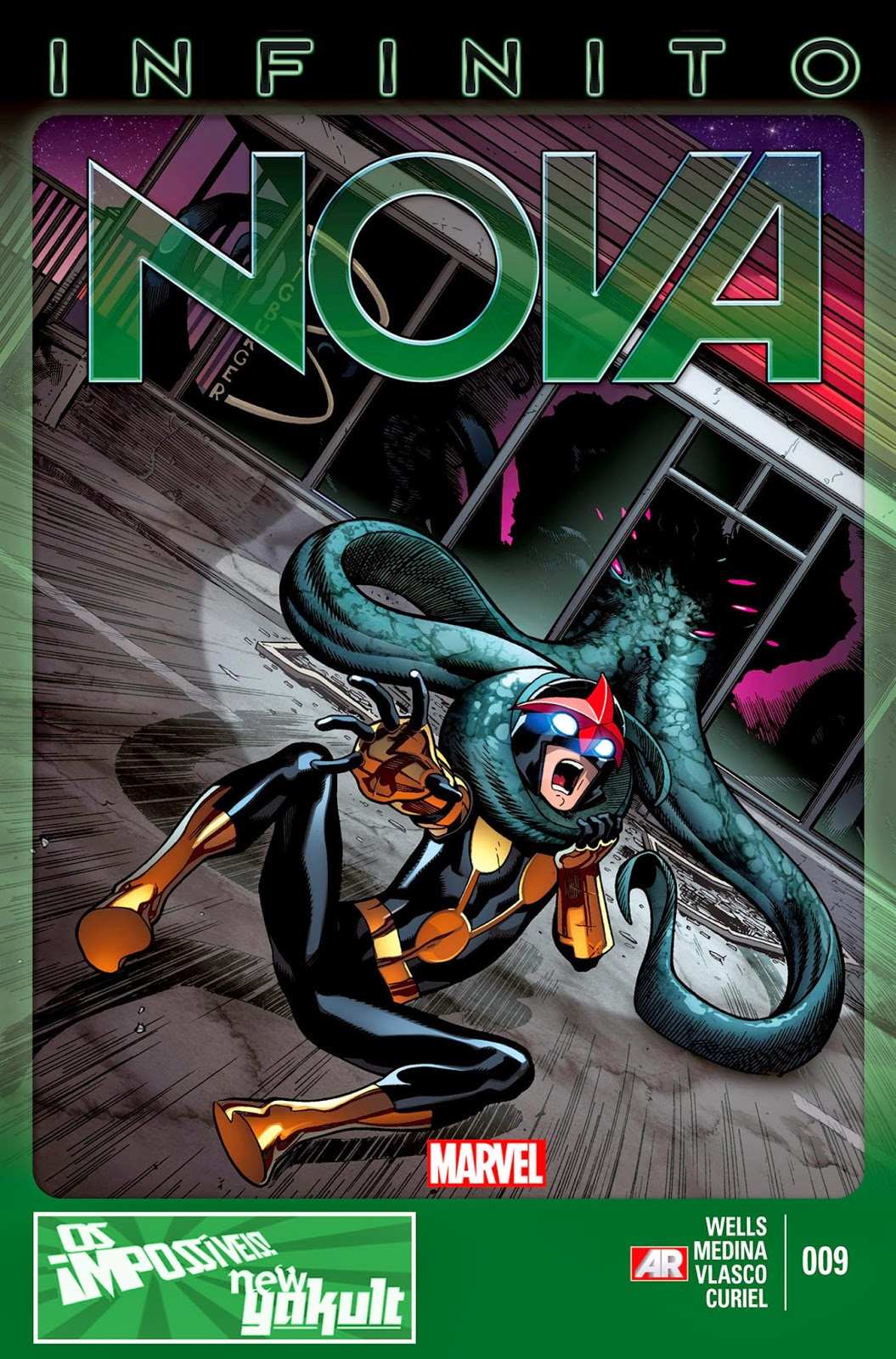 Nova Marvel! Nova #9