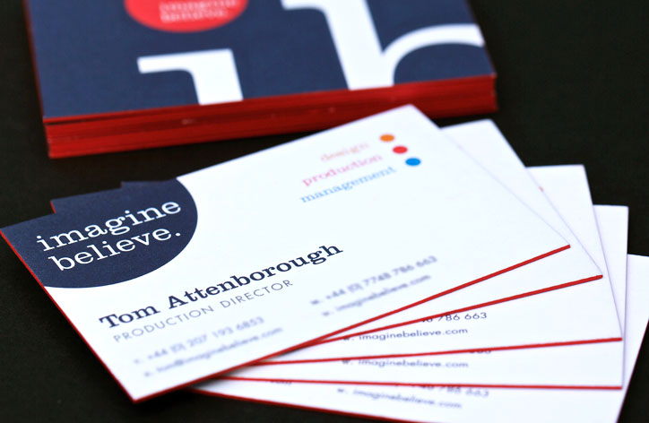Kall kwik chelsea give your business cards an edge literally reheart Image collections