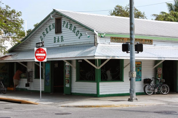 Green Parrot - Key West | The Twisted Horn