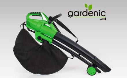 Elektryczny odkurzacz i dmuchawa do liści 2w1 Gardenic z Biedronki