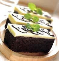 Resep Brownies Coklat Kopi