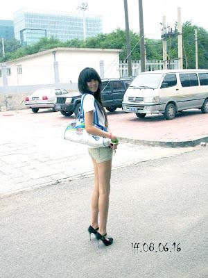 中國美腿 孔燕松