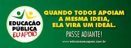 CAMPANHA PELA EDUCAÇÃO PÚBLICA DE QUALIDADE