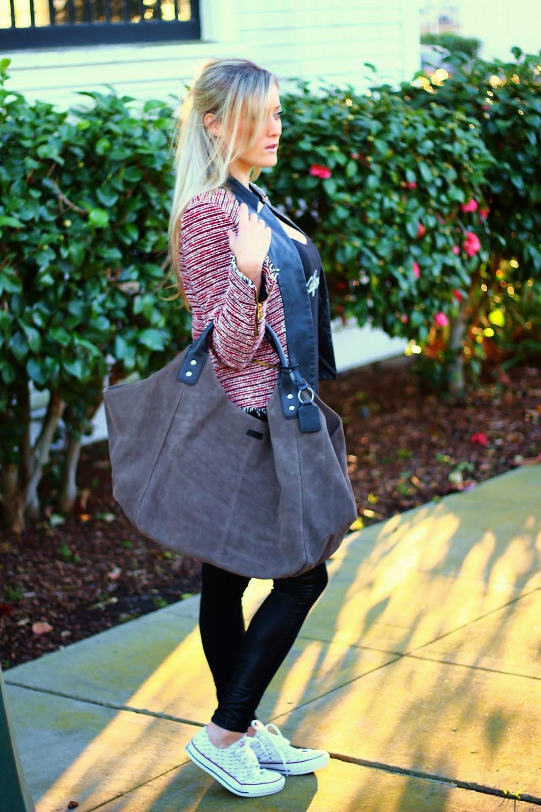 QTee, Customizable, California, Ellington Handbags