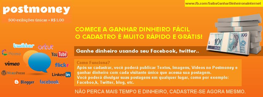 Ganhe Dinheiro com o Facebook e Outras Redes Sociais