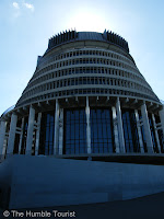 Beehive Wellington Parliament of New Zealand