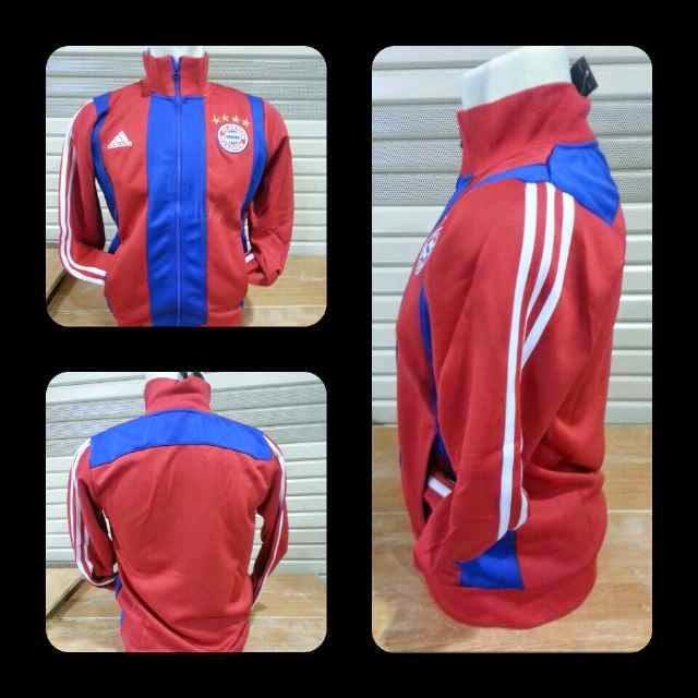 bocoran jaket bayern muncehn terbaru warna merah musim 2014/20156