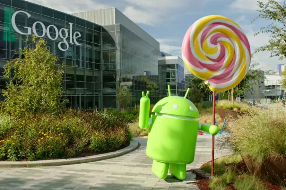 Android lolipop güncellemesi
