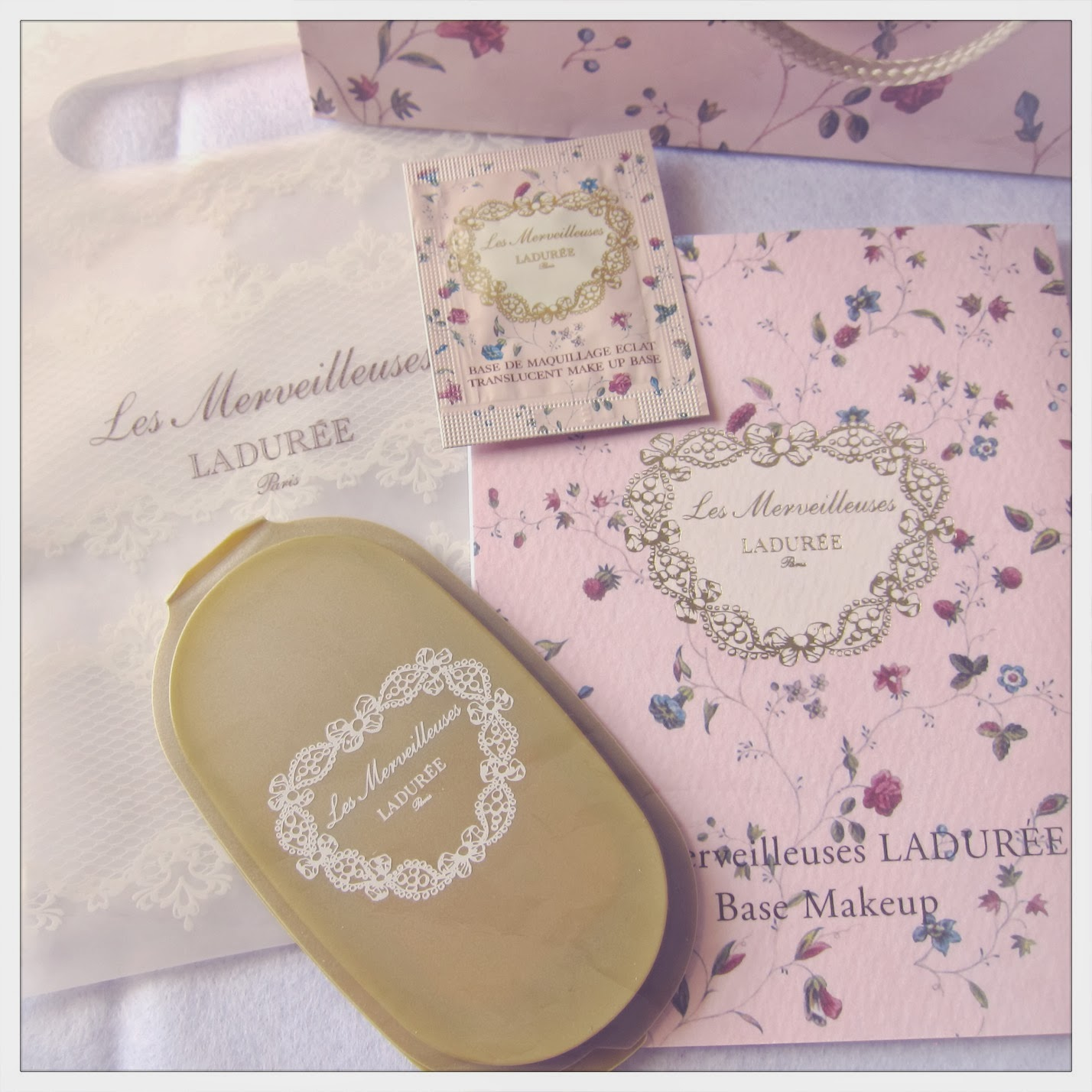 Missuety Laduree Les Merveilleuses Cheek Brush She Even Managed To Get Me The Foundation Samples