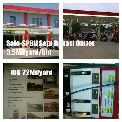 SPBU Dijual Murah Bekasi Dekat Kawasan MM2100 Cibitung Bekasi