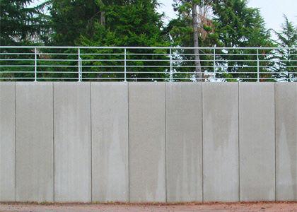 Muros de contenci n muros de contenci n de hormig n - Muros de hormigon ...