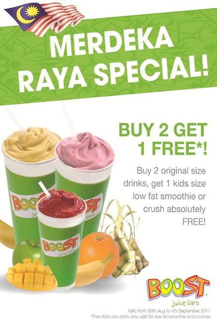 Boost Juice Bars Malaysia