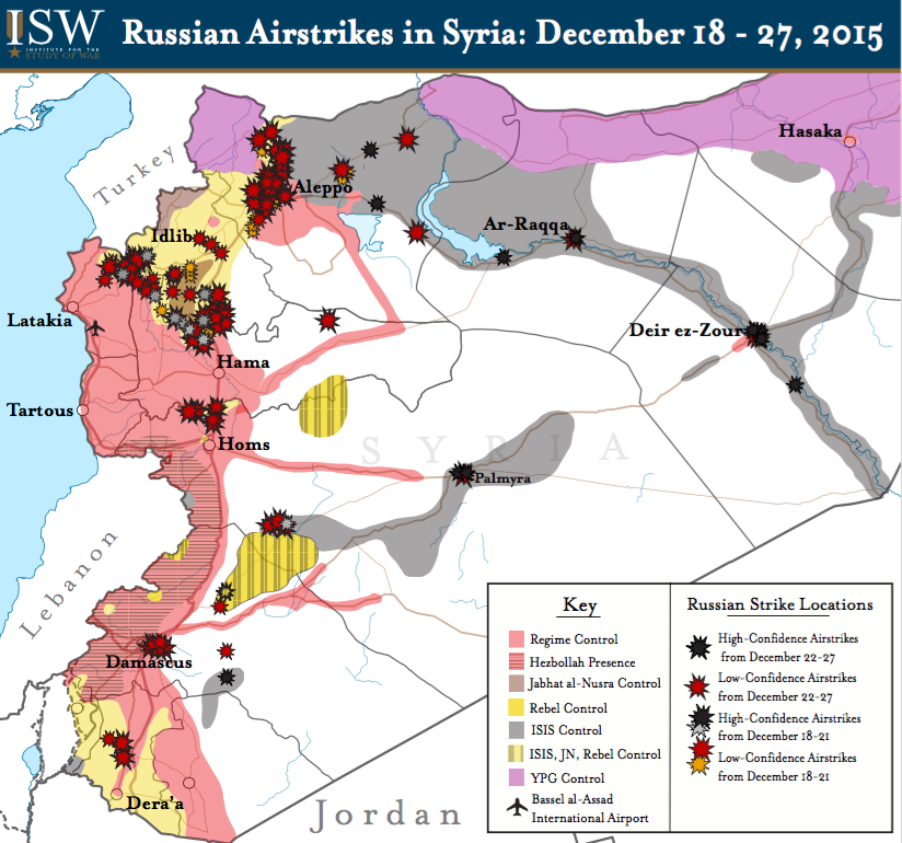 Are Russian Airstrikes Helping U S Allies In Syria