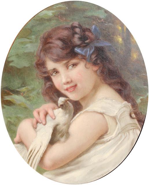 portrait,Guillaume Seignac,cute girl