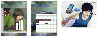 振永@B1A4 SonyEricsson手機主題for Elm/Hazel/Yari/W20﹝240x320﹞