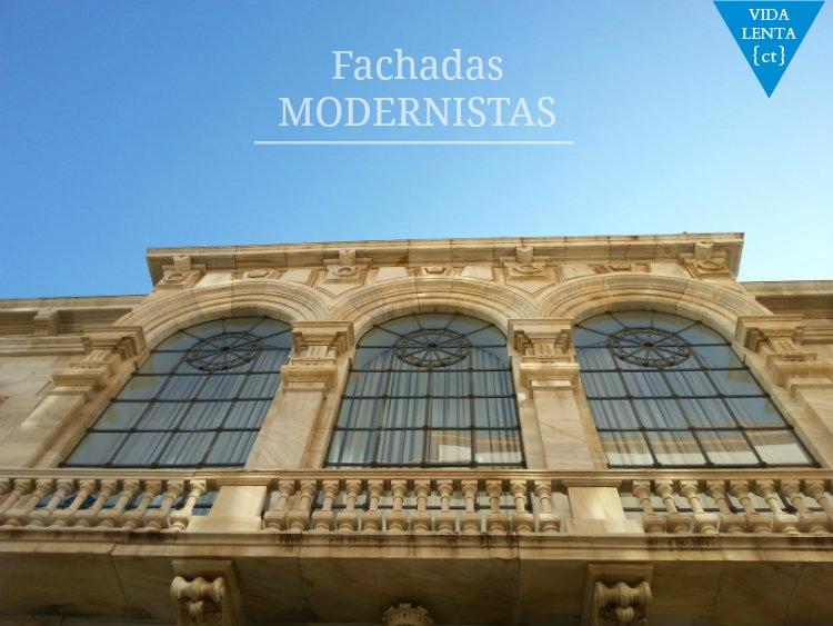 Fachadas modernistas de Cartagena