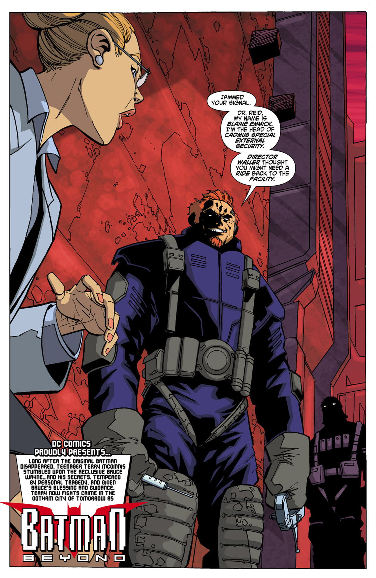 Batman Beyond (2010) Issue #5 #5 - English 3