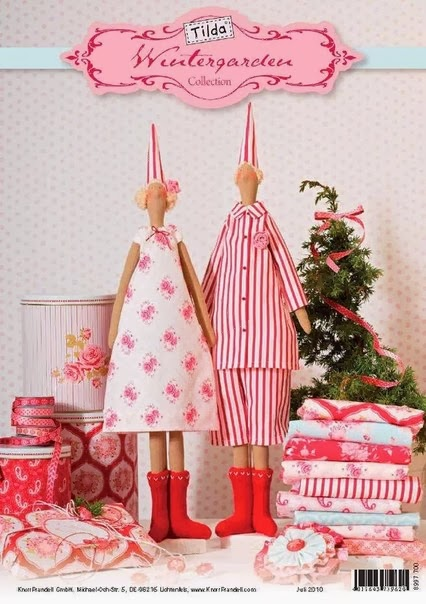 большой рождественский ангел тильда выкройка