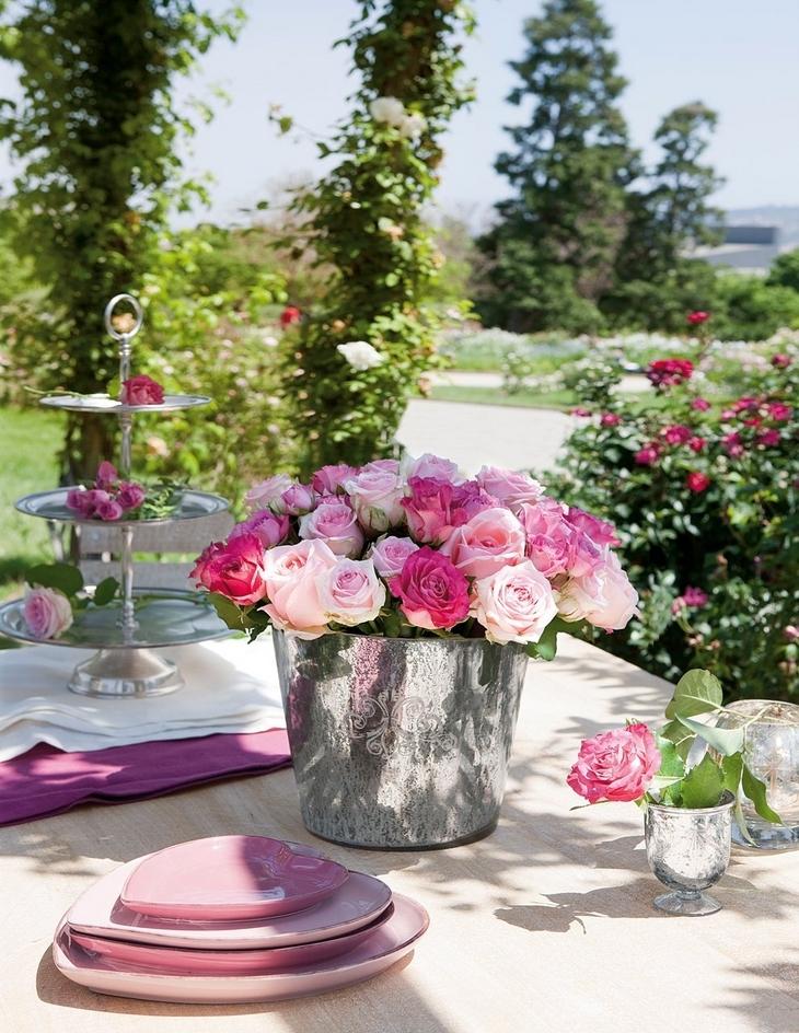 Vazgeçilmesi tealight lar güller ise yaz mevsimininn en güzel