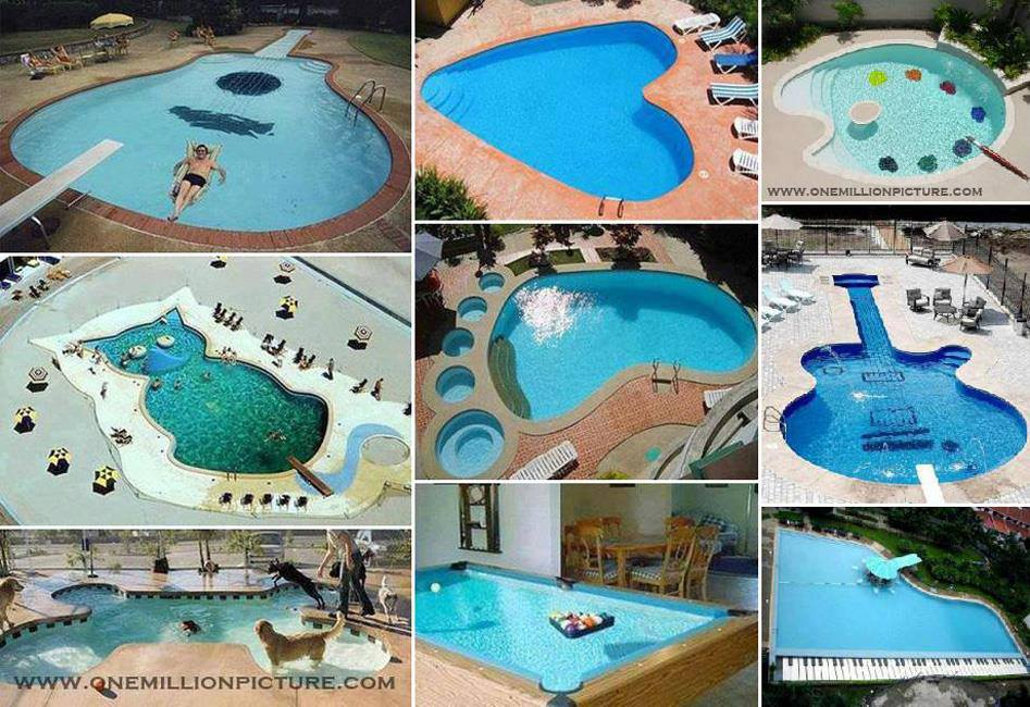 Reflexiones instantáneas por Max: Diseño en piscinas...