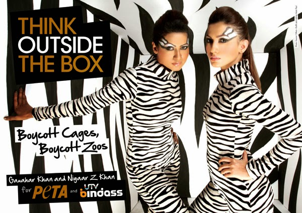 Boycott Zoos - PETA: Think outside the box