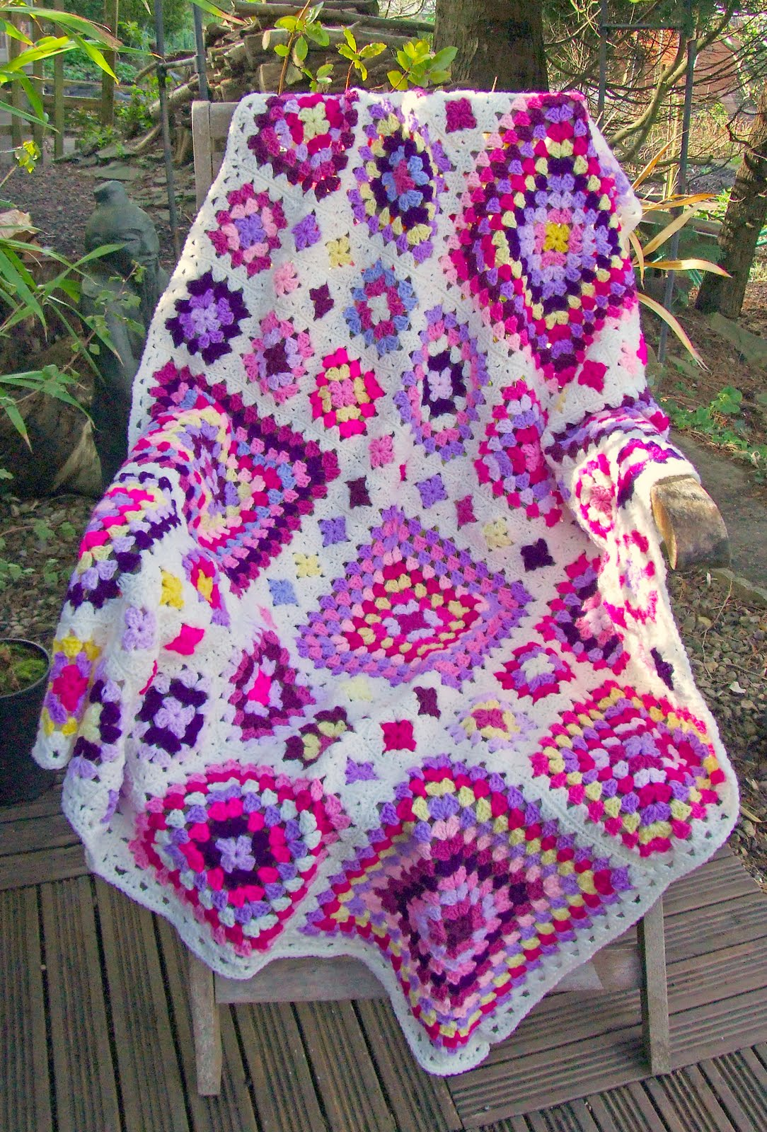 Granny Square Afghan Pattern Unique Inspiration Ideas