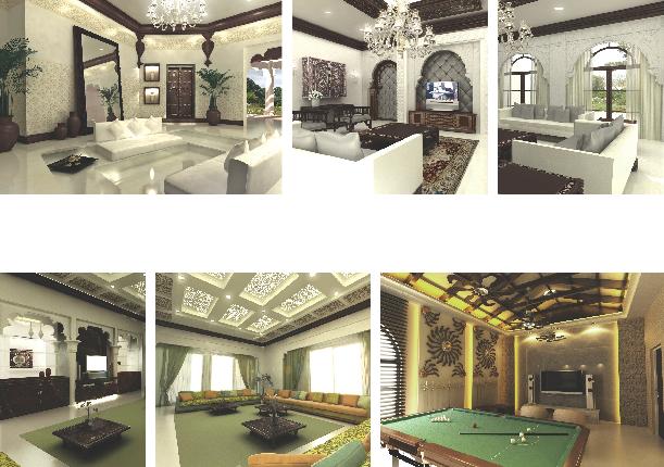 Tawazen interior design l l c resedental projects for Islamic interior design ideas