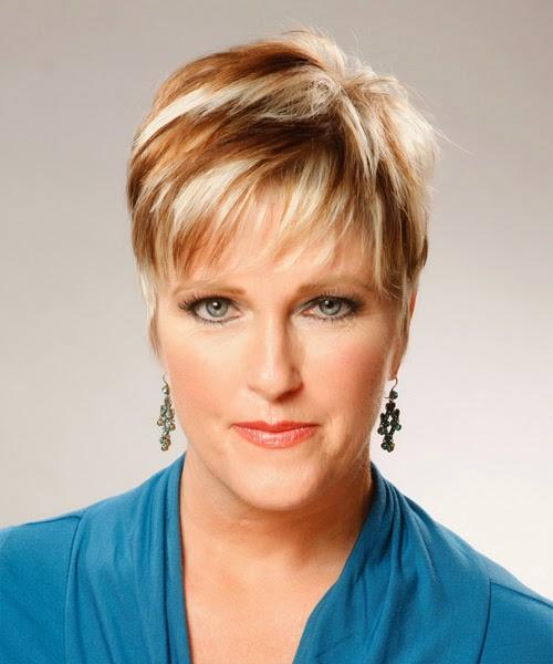 haircut mature woman
