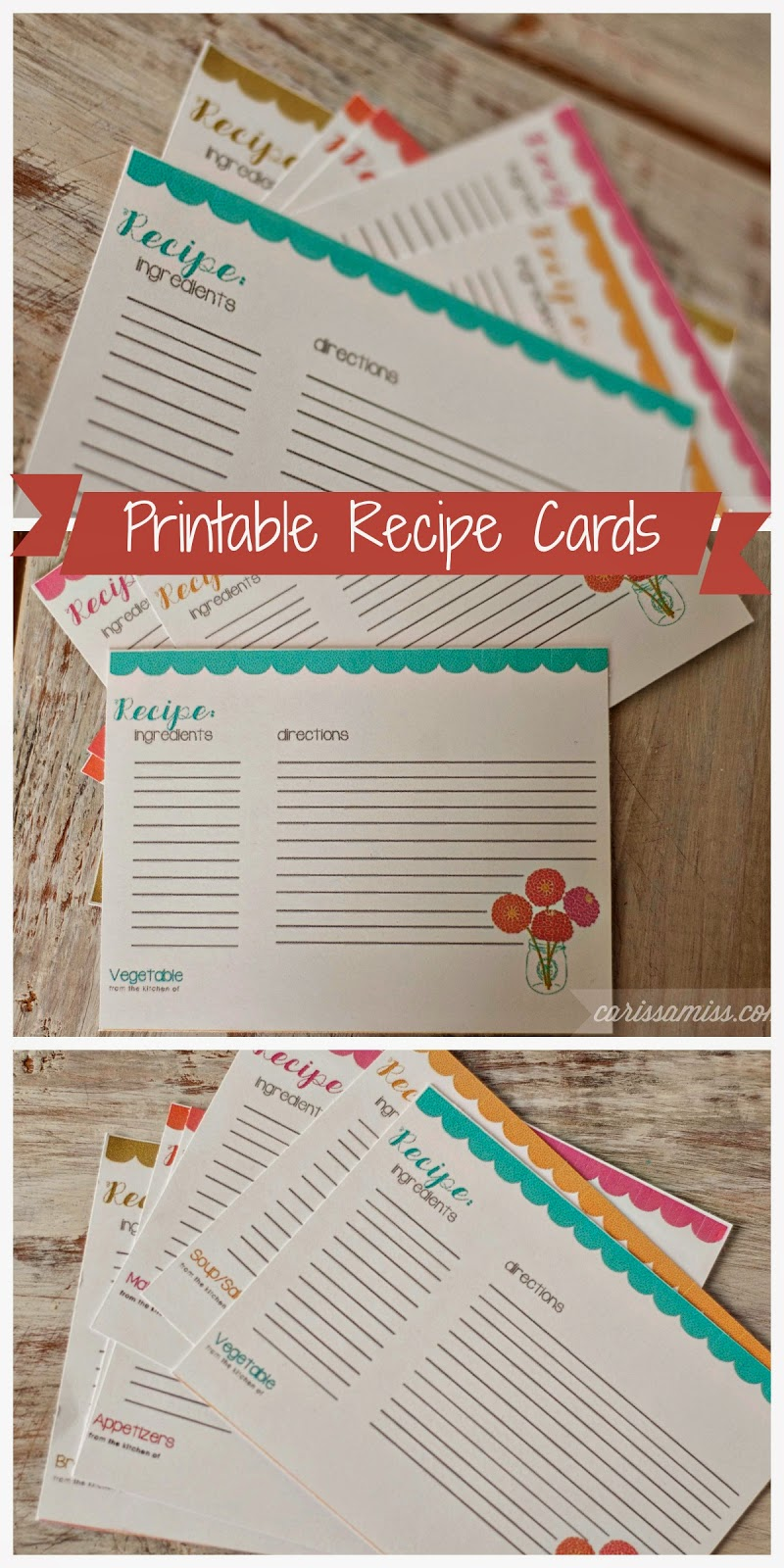 1000  ideas about recipe templates on pinterest