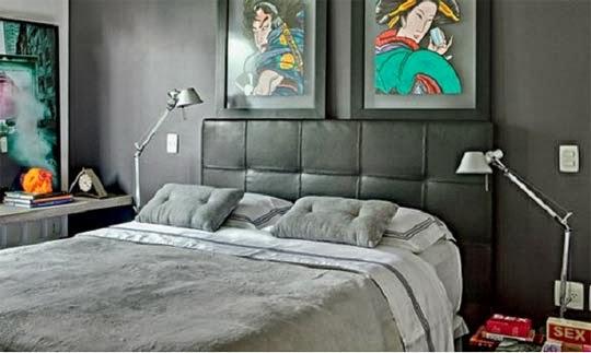 decoração-quarto-tons-de-cinza