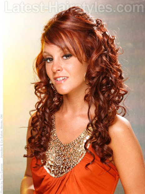 style long curly hairstyles