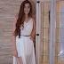 Look do Dia: Vestido branco com Fenda Ateliê Madre & Co. para Miss Canoas 2016