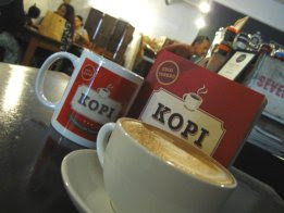 """""""Kopi"""" at Mukha Café"""