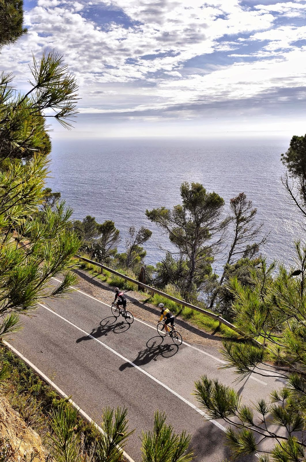 Costa Brava road cycling by Montefusco Cycling