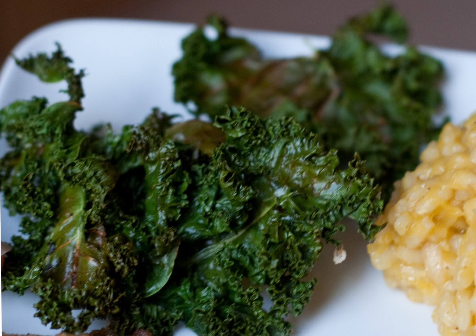 ... Double Duty Weekly Recipe: Baked Kale Chips and Walnut Crusted Tilapia