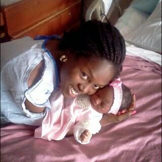 Check Out Segun Arinze's Cute New Born Baby Girl – Photo