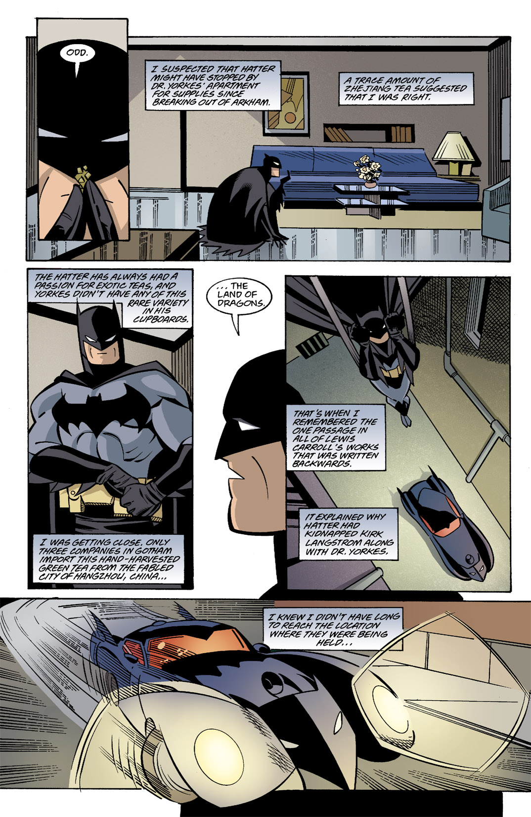 Detective Comics (1937) Issue #787 Page 12