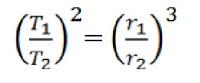 Rumus Hukum Kepler