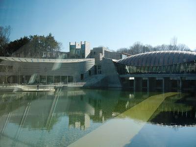 Crystal Bridges Museum in Bentonville, AR