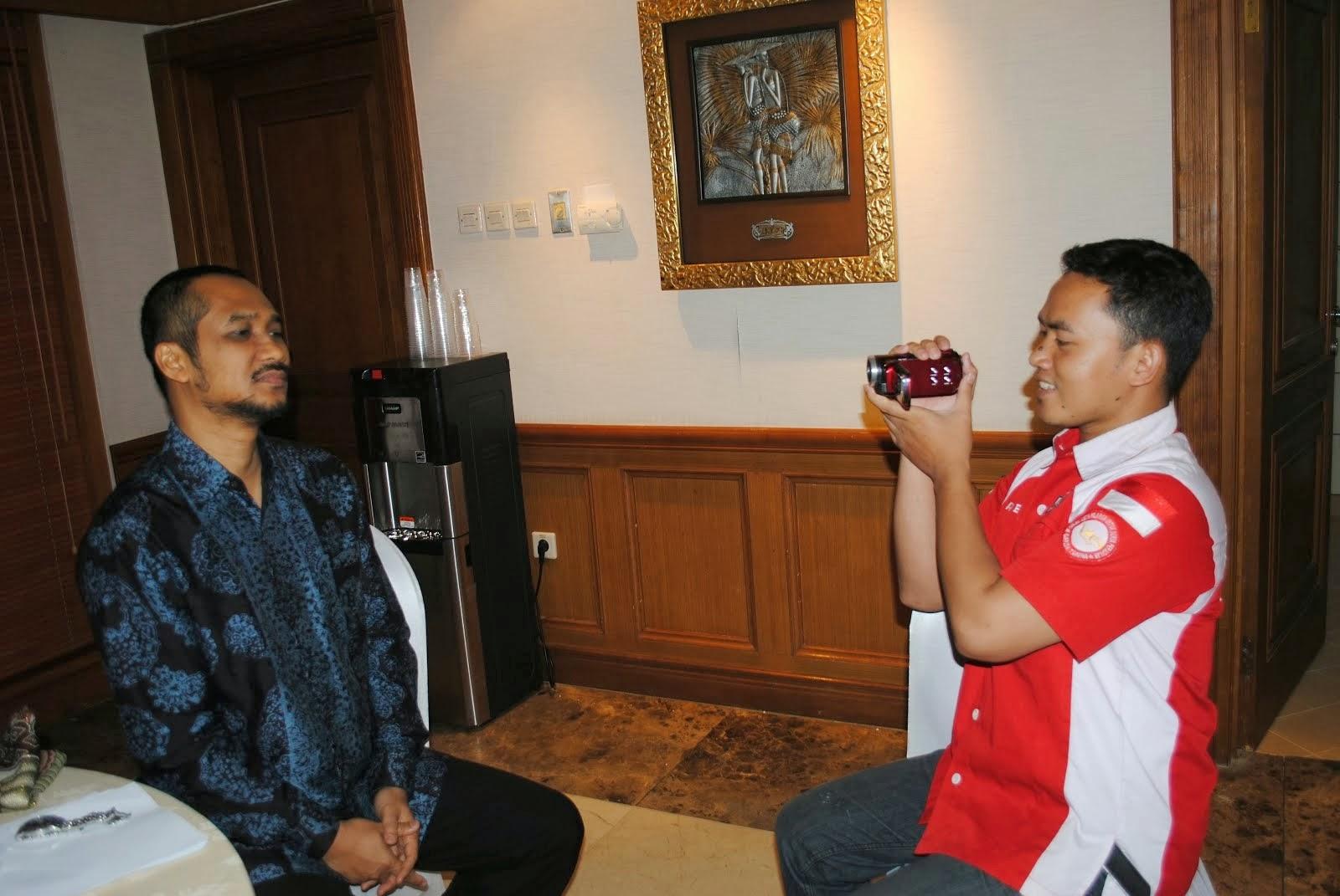 Bersama Ketua KPK RI