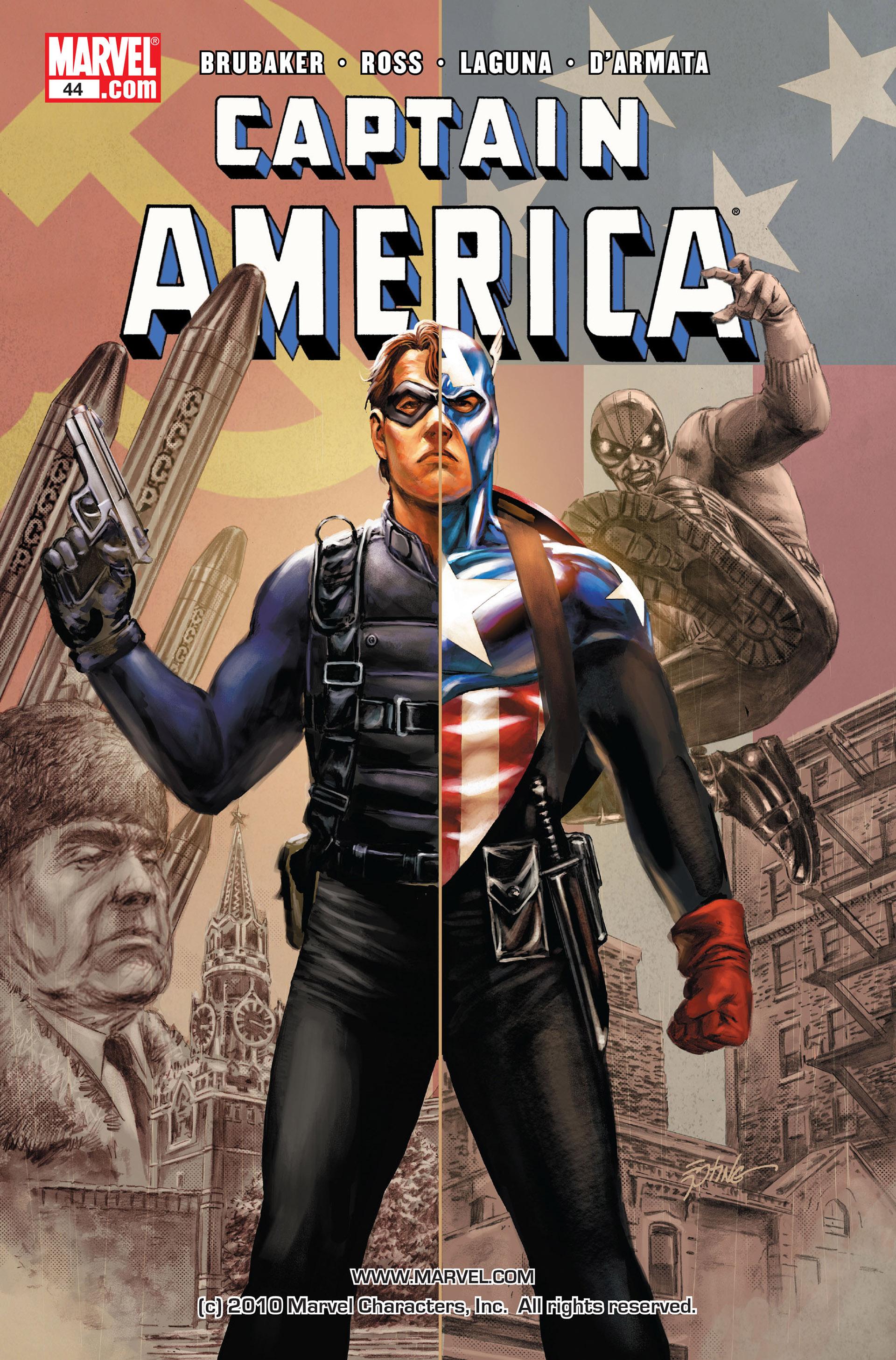 Captain America (2005) Issue #44 #44 - English 1