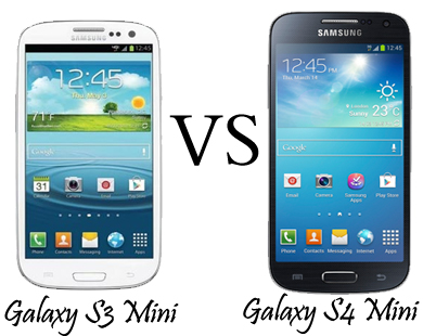 Samsung Galaxy S4 Mini Vs S2 Plus