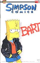 Michael con los Simpson