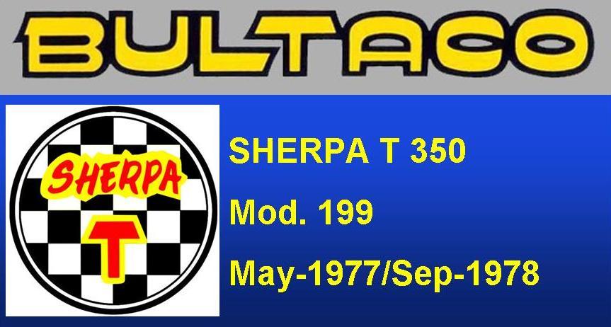 Bultaco Sherpa T 350 MOD. 199
