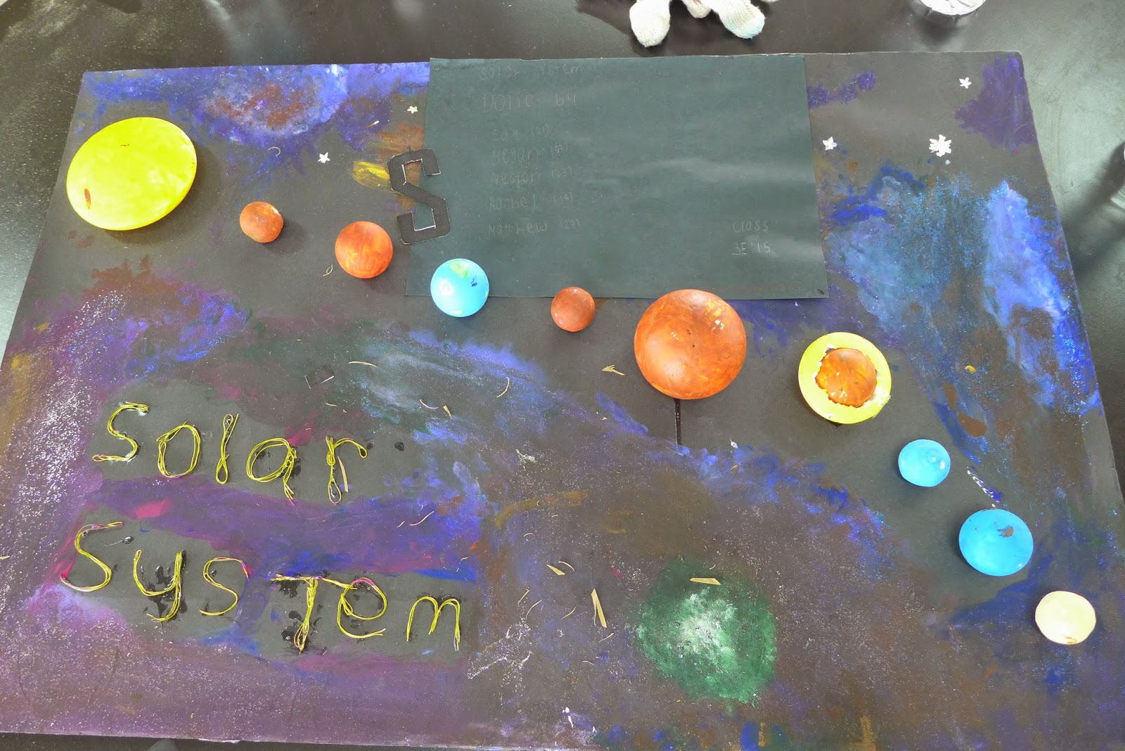 sec 3 via learning journey via day three another picture of our class solar system