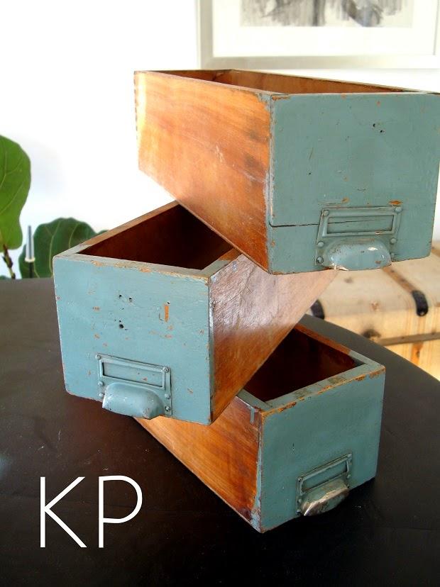 Cajas madera antiguas para decoración