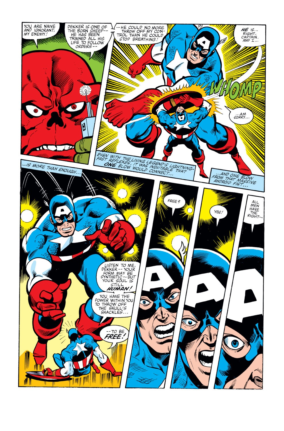 Captain America (1968) Issue #263 #178 - English 7