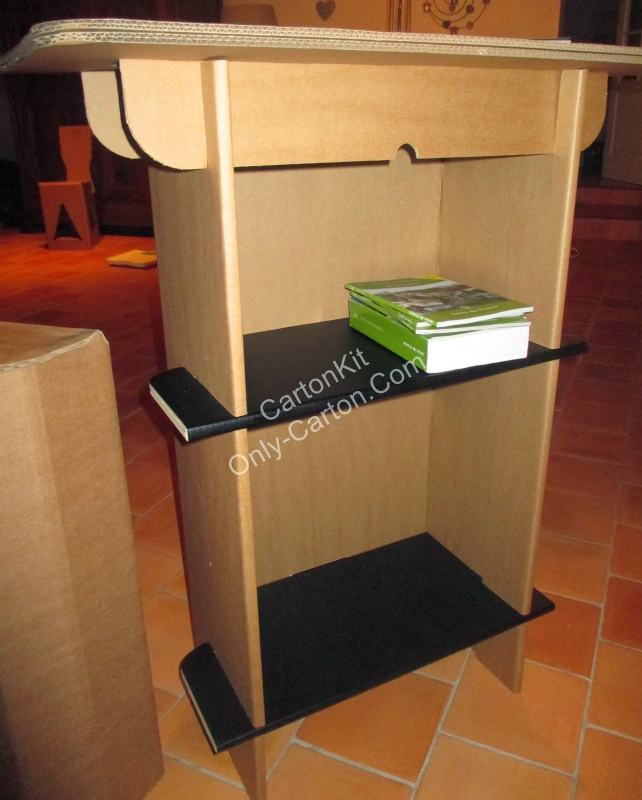 carton kit cr ations objets et meubles 100 carton mobilier carton. Black Bedroom Furniture Sets. Home Design Ideas